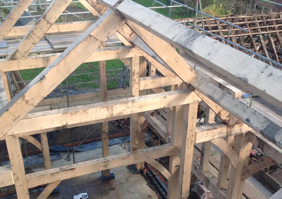 Timber Frame Construction - Mick Tott